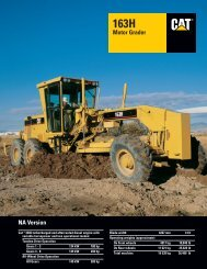163H All-Wheel Drive Motor Grader : AEHQ5269 - Kelly Tractor
