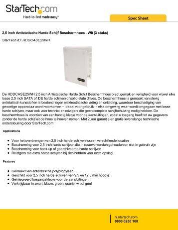 2,5 inch Antistatische Harde Schijf Beschermhoes - Wit (3 stuks ...