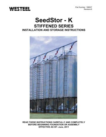 198937 SSK Stiffened INSTALLATION INSTRUCTIONS.pdf - Westeel