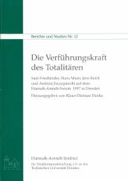 Volltext [pdf] - Hannah-Arendt-Institut Dresden - Technische ...