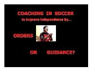 coach - US Youth Soccer