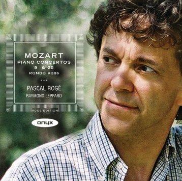 MOZART - Onyx Classics