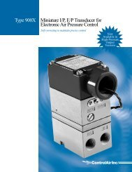 Type 900X Miniature I/P,E/P Transducer for ... - Temp-Press Inc