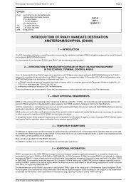 introduction of rnav1 mandate destination amsterdam/schiphol (eham)