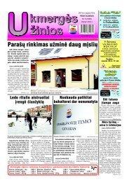 2013-01-18-1 dalis - Ukmergės žinios