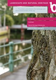 LANDSCAPE AND NATURAL HERITAGE - Cork City Council