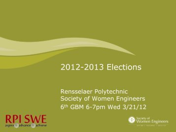 | Please type the name of project here - Society of Women Engineers