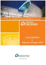 Co je nového v Advance Design 2013 - GRAITEC Info