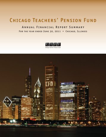 2011 - Public School Teachers' Pension and Retirement Fund of ...