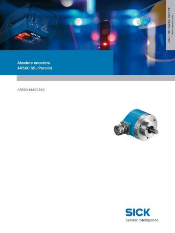 Absolute encoders ARS60 SSI/Parallel - Kempston Controls