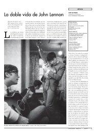 La doble vida de John Lennon