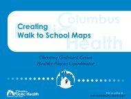 Walking School Map