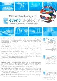 Bannerwerbung auf - Eventlokale.com