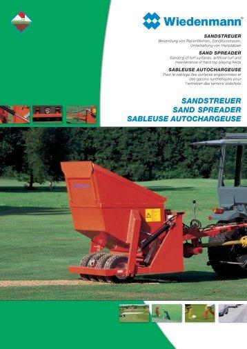 SANDSTREUER SAND SPREADER SABLEUSE AUTOCHARGEUSE