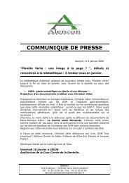 communique de presse - Alençon