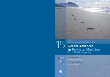 Post-Graduate Course on Recent Advances in Perinatal Medicine