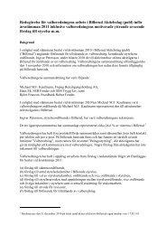 Redogörelse för valberedningens arbete i Billerud ... - Billerud AB