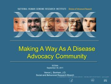 Making A Way As A Disease Advocacy Community - Sickle Cell ...