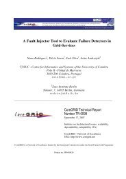 A Fault-Injector Tool to Evaluate Failure Detectors in ... - CiteSeerX