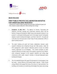 first public-private collaboration initiative - Building & Construction ...