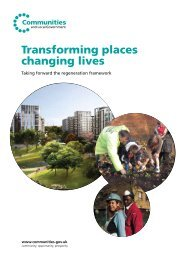 Transforming places changing lives - One East Midlands