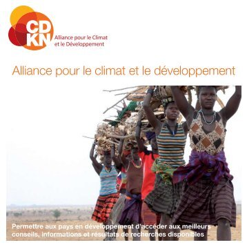 Alliance pour le climat et le développement