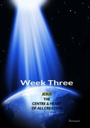Outline for Week Three - Anglican Communion