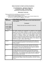 Schizophrenia Guideline - Faculty of Public Health