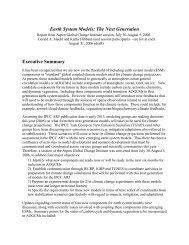 Earth System Models - Aspen Global Change Institute