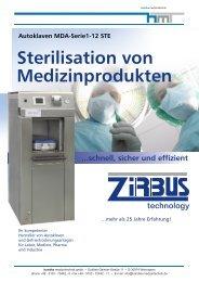 Dampfsterilisatoren (PDF 0.9 MB) - Handke Medizintechnik