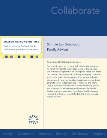Family Advisor - New England Serve