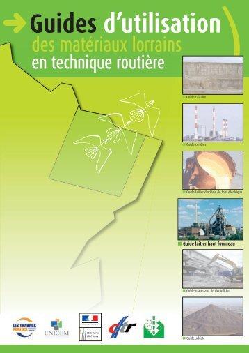 Guide laitiers hauts fourneaux - Le CETE de l'Est