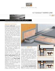 8.7 Schluter®-KERDI-LINE - CreationsOmni.com