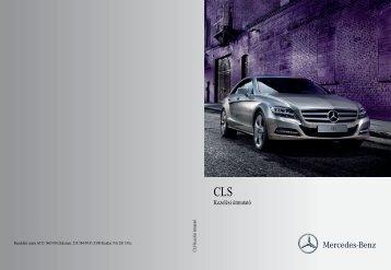 Kezelési útmutató - Mercedes-Benz Magyarország