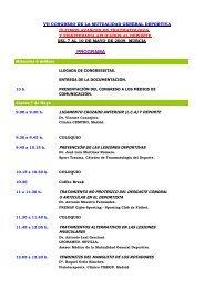 Programa III - Congresos Médicos