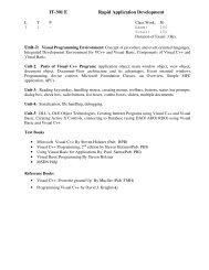 Exam - Apeejay College of Engineering, Sohna