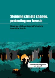 Stopping climate change, protecting our forests - Sustainlabour