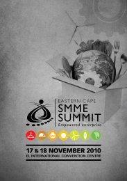 17 &18 NOVEMBER 2010 - Eastern Cape Development Corporation