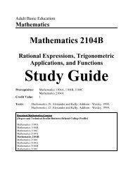 MATH\Academic Math\Academic MATH 2104B\2104B Study Guide ...