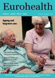 Ageing and long-term care - World Health Organization Regional ...