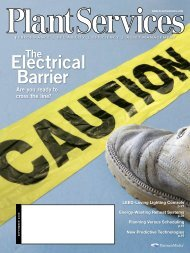 Electrical Barrier - Plant Services