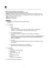 Referat af bestyrelsesmøde 15.02.2013 - Dansk Münsterländer Klub