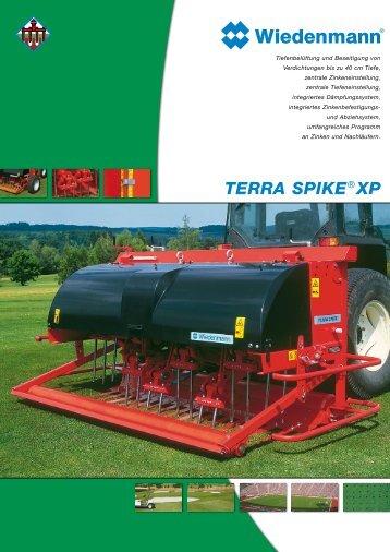 TERRA SPIKE® XP - Wiedenmann  GmbH