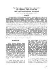 struktur pasar dan pemasaran gabah-beras dan komoditas
