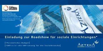 Einladung zur Roadshow für soziale ... - social-software.de