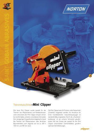 Mini Clipper-DE.indd - Norton Construction Products