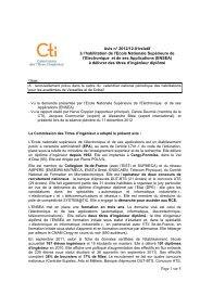 ENSEA - Commission des Titres d'Ingénieur