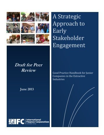 A Strategic Approach to Early Stakeholder Engagement - CommDev