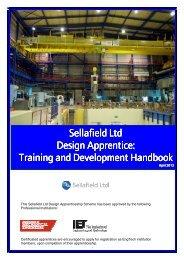 Design Apprentice: Training & Development Handbook - Sellafield Ltd