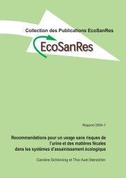 Recommandations pour un usage sans risques de l ... - EcoSanRes
